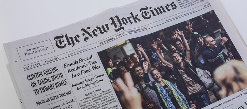 Pitching an Op-Ed Piece to The New York Times | Communiqué PR