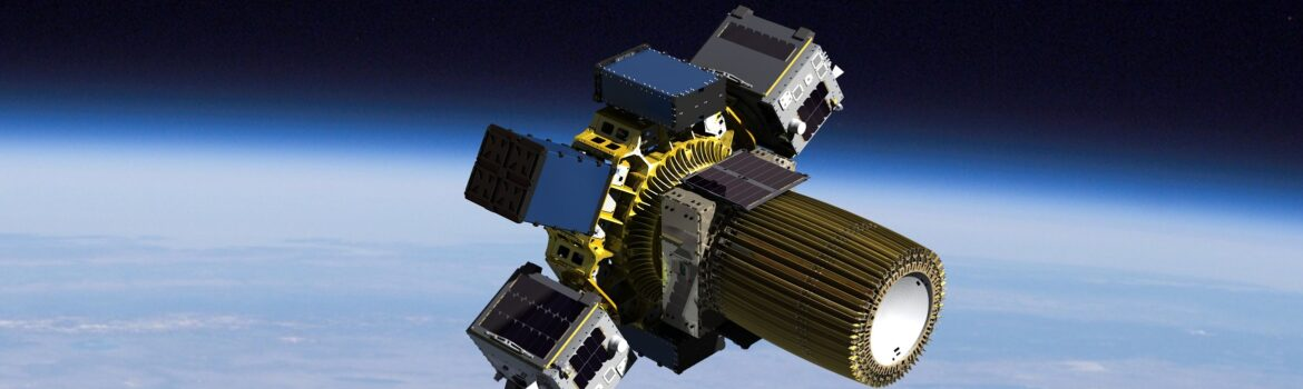 A rendering of Spaceflight's Sherpa-FX vehicle. Image courtesy of Spaceflight Inc.
